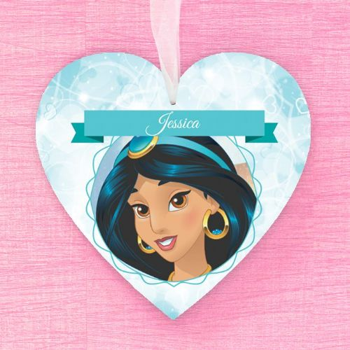 Jasmine Personalised Hanging Heart